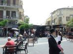 Entrance int Carmel Market
