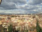 MONTEVERDE VECCHIO.JANICULUM HILL.180° ROME WIEW.THE BEST.1.3 km from the apt