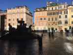 PIAZZA S.MARIA IN TRASTEVERE.20 MIN.ON FOOT FROM THE APT.