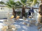 garden area,