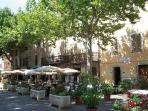 Dinner, drinks, Ice Cream - La Place de Tourtour - enjoy!