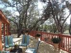 1000ft. of decks/patios/porches with plenty of tables, bars and comfy chairs to relax and enjoy