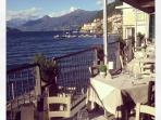 A few steps away you can find the wonderful Ristorante Aurora with a breathtaking view on the lake