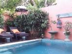 Plunge Pool.4.000 X 4.000 Very private walled area.