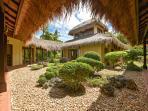 Inner garden, exterior