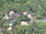 bird eyes view of Quinta do Milhafre (our property)