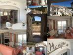 Collage met algemene indrukken van Mariposa