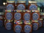 homemade apricots jam