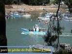 Petit port de pêche à Séné (Port-Anna)