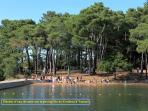 La piscine d'eau de mer de Conleau à Vannes