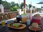 Start the day with a great breakfast! Enjoy it in the sunshine on the terrace or in your apartment