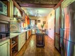 ...fabulous and unique kitchen design...