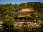 Kinkakuji -- the Golden Pavilion in Summer