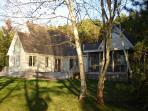 View of cottage from the beautiful Sheepscot River