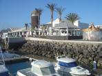 New Harbour at Caleta - a 15/20 minute walk from the house