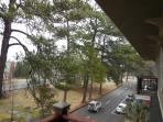 A beautiful view of your half block walk to downtown Aiken.
