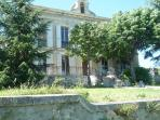 general view on villa saint marc , rooms in first floor