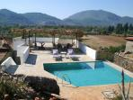 stunning private rooftop pool and pool kitchen with amazing views. Suitable for private guests