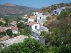 scenic Cretan house in hills near Elounda beach