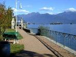 Lakefront promenade