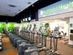 Gym near the flat(free entry for one person)