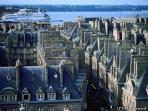 The beautiful port and walled city of St Malo