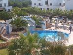 Pool view from Casa Kirbs 1