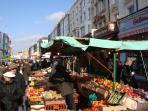 Portobello Market every Friday and Saturday with great vintage collections.