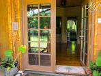 Front door opens to glorious and calming interior
