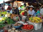 Hoi An Market- 1 km from the house