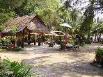 Popular beach restaurant