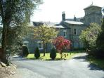 Coed y Celyn Hall. 6 Apartments.Set in their own grounds.