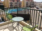 Condominium swimming pool and bar/restaurant