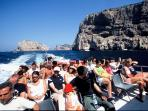 The trip out to Neptune's Grotto at Capo Caccia is a fabulous experience