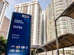 Putra Komuter Station, right building is regalia