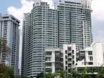 Regalia's Facade view from KTM Putra Station