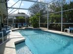 Our pool benefits from year round solar heating and we have a heater option