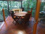 all weather veranda with fencing