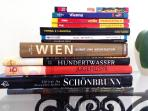 We have lots of books and travel guides about Vienna