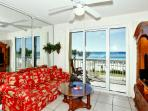 Living Area w/ Gulf Views