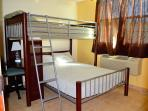 Double Bed: top (twin size) & bottom (full size)