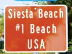 Siesta Key has been nomited one of the top 10 beaches in the USA by Tripadvisor