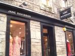 Jane Davidson, Thistle Street.