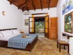 Two Bedroom Stone Villas in Vasilikos - Bedroom