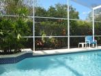 Even in summer unheated pool can be chilly but you will have the benefit of our solar system