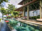 Villa Paraiso Ocean-View Infinity Edge 70-ft. Lap Pool and Wrap-Around Outdoor Terrace