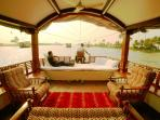 Houseboat Living area