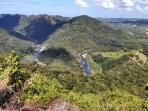 Vista del Rio Grande de Morovis desde Ciales