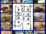 Here is a layout plan of our home