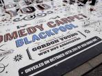 Comedy carpet outside the Tower